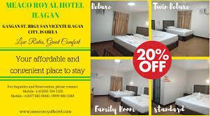 MEACO ROYAL HOTEL - ILAGAN